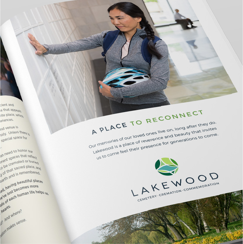 Lakewood Cemetery Print Ad
